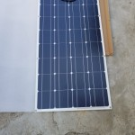 Saulės baterija 12v 100w - skydelis photo review