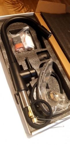 Išmanus maišytuvas su ištraukiama žarna ir jutikliniu valdymu photo review